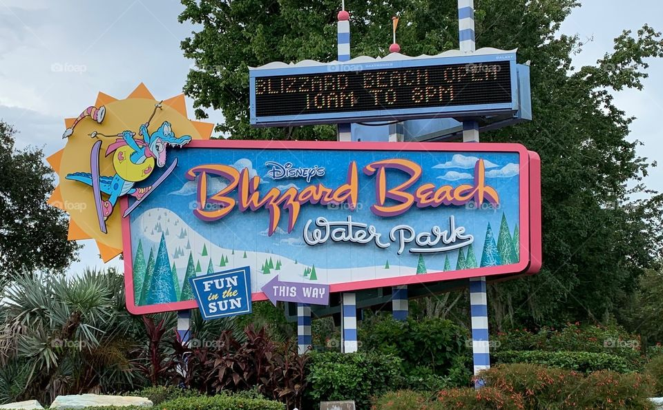 #day123 Everyday WDW Orlando Florida.  I have been lost on Disney Properties consecutively since 4/3/19 You can find my encounter https://www.facebook.com/selsa.susanna or on IG selsa_susanna Disney's Blizzard Beach closed 8-3-19 Saturday