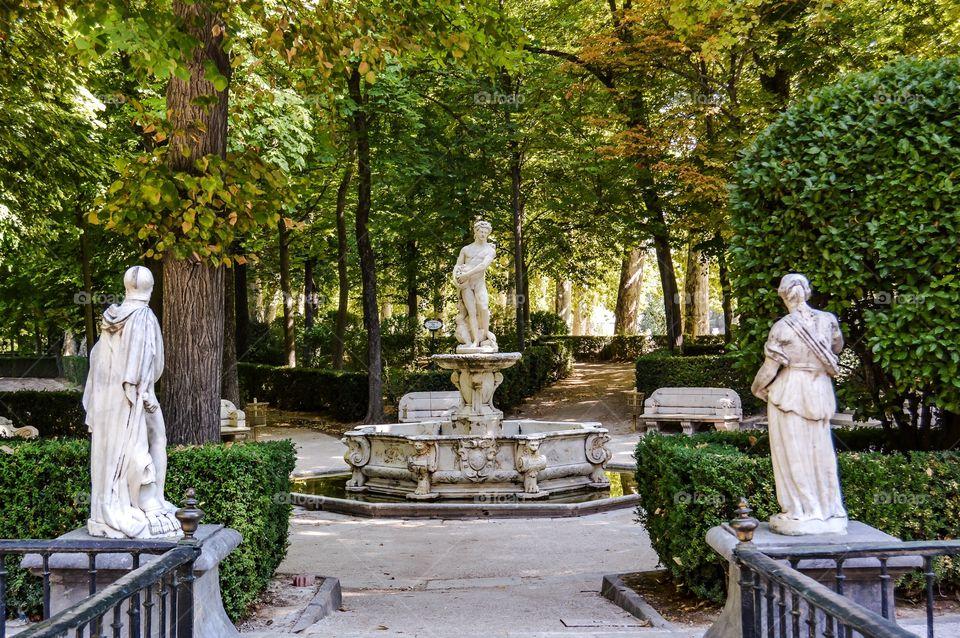 Jardín de la Isla, Fuente de Apolo (Aranjuez - Spain)