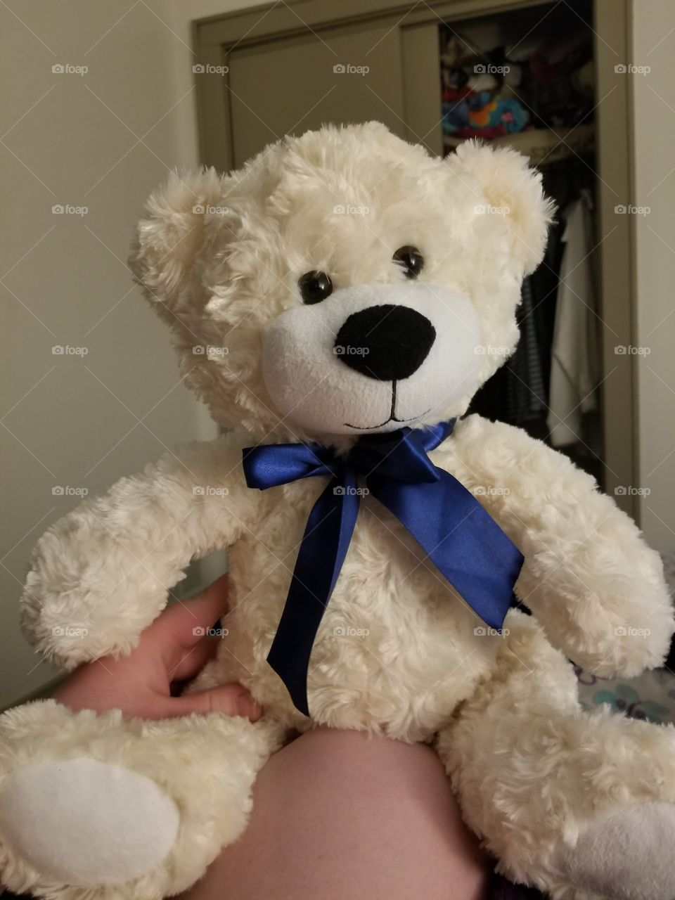 fluffy, stuffed best friend