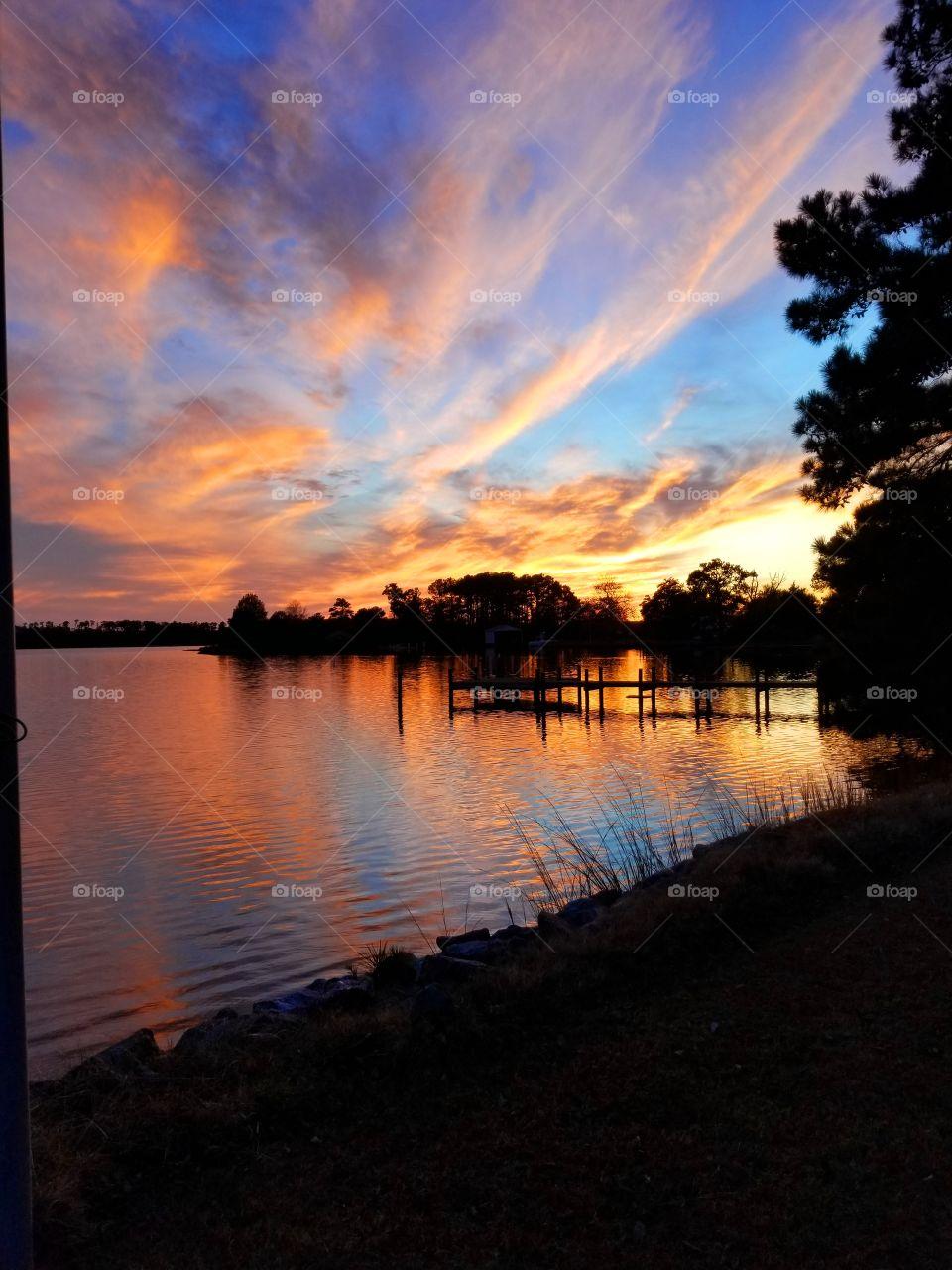 A Gwynn's Island Sunset