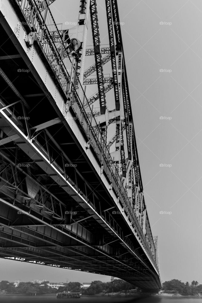 Famous Howrah Bridge