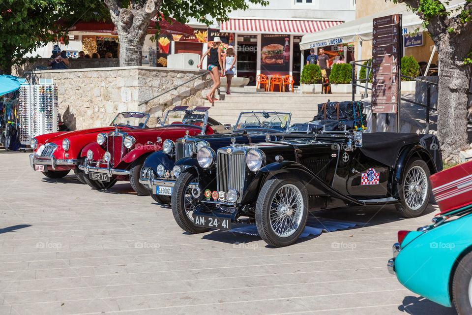 MG Old Cars - Pag, Croatia