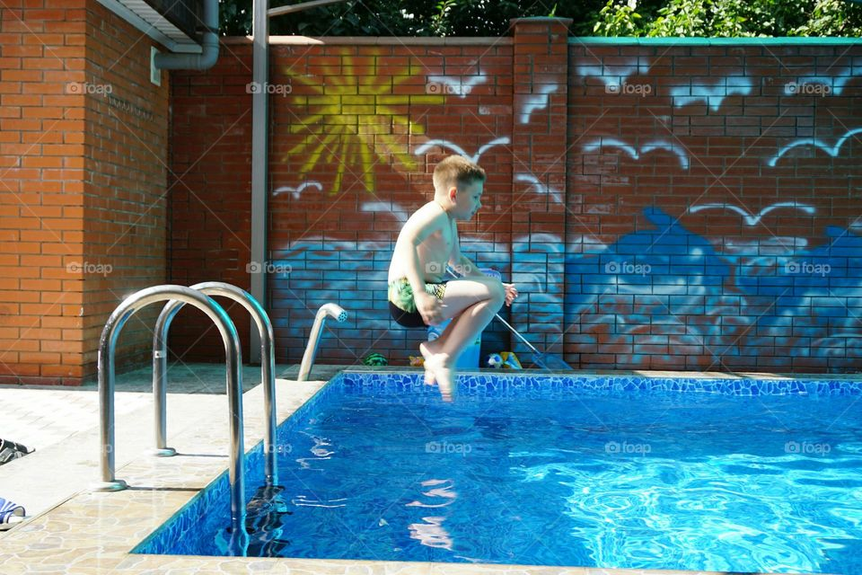 Dug Out Pool, Swimming, Swimming Pool, Poolside, Leisure