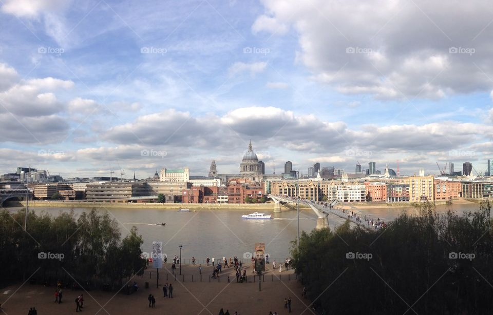 View from the Tate