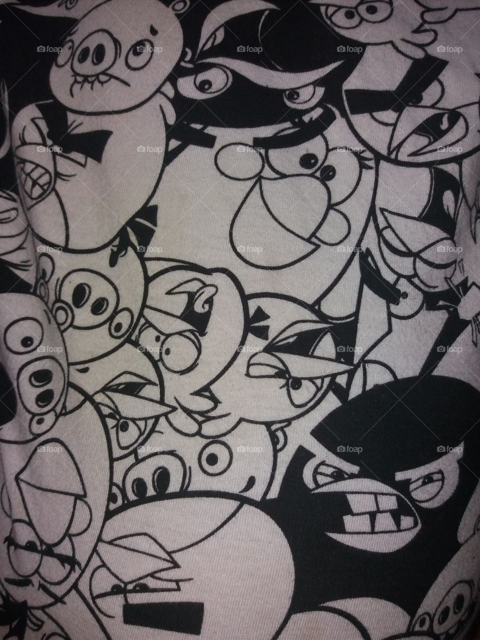 Angry Birds Textile
