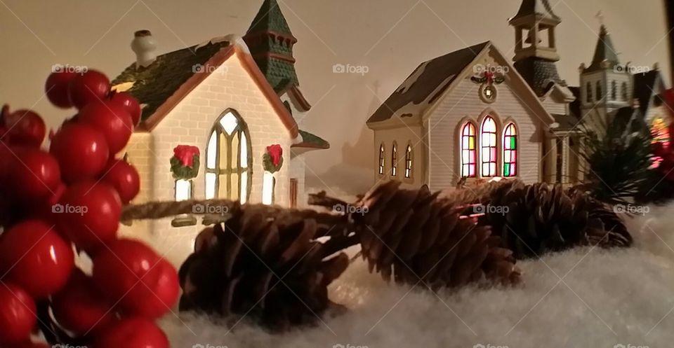 Churches at Christmas
