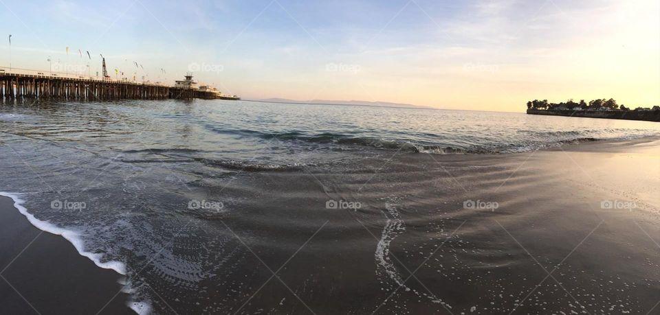 santa cruz. beach day