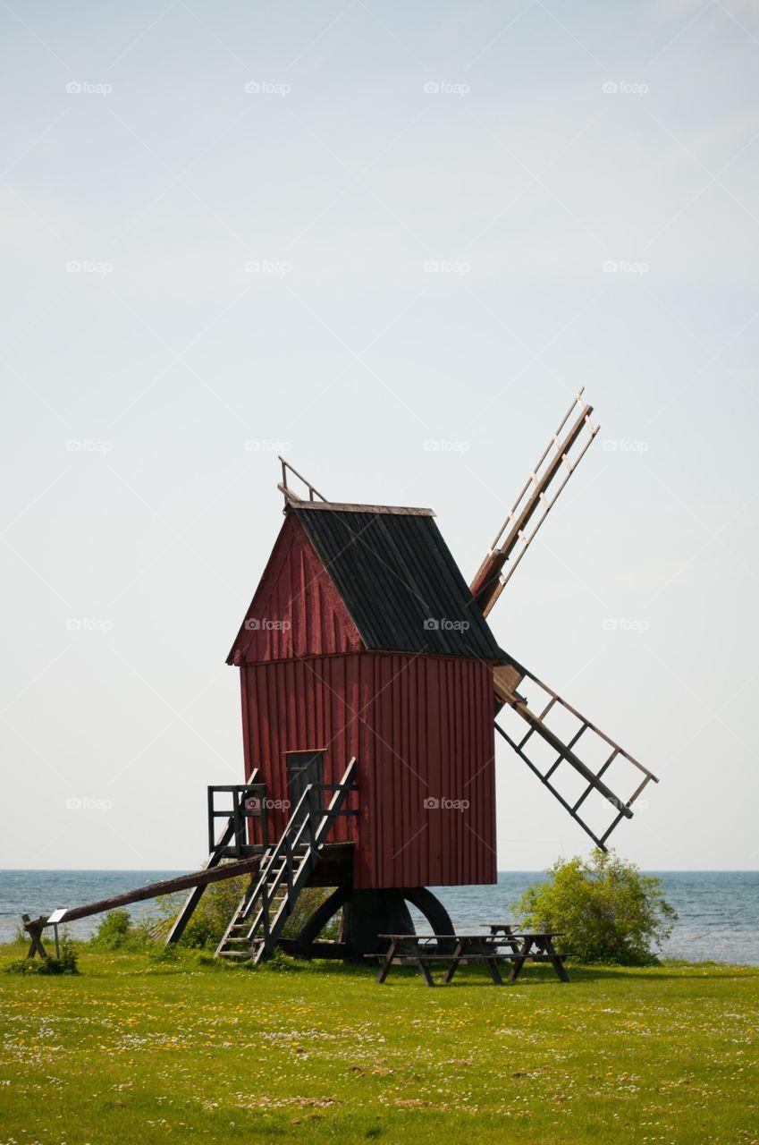 Swedish wind mill