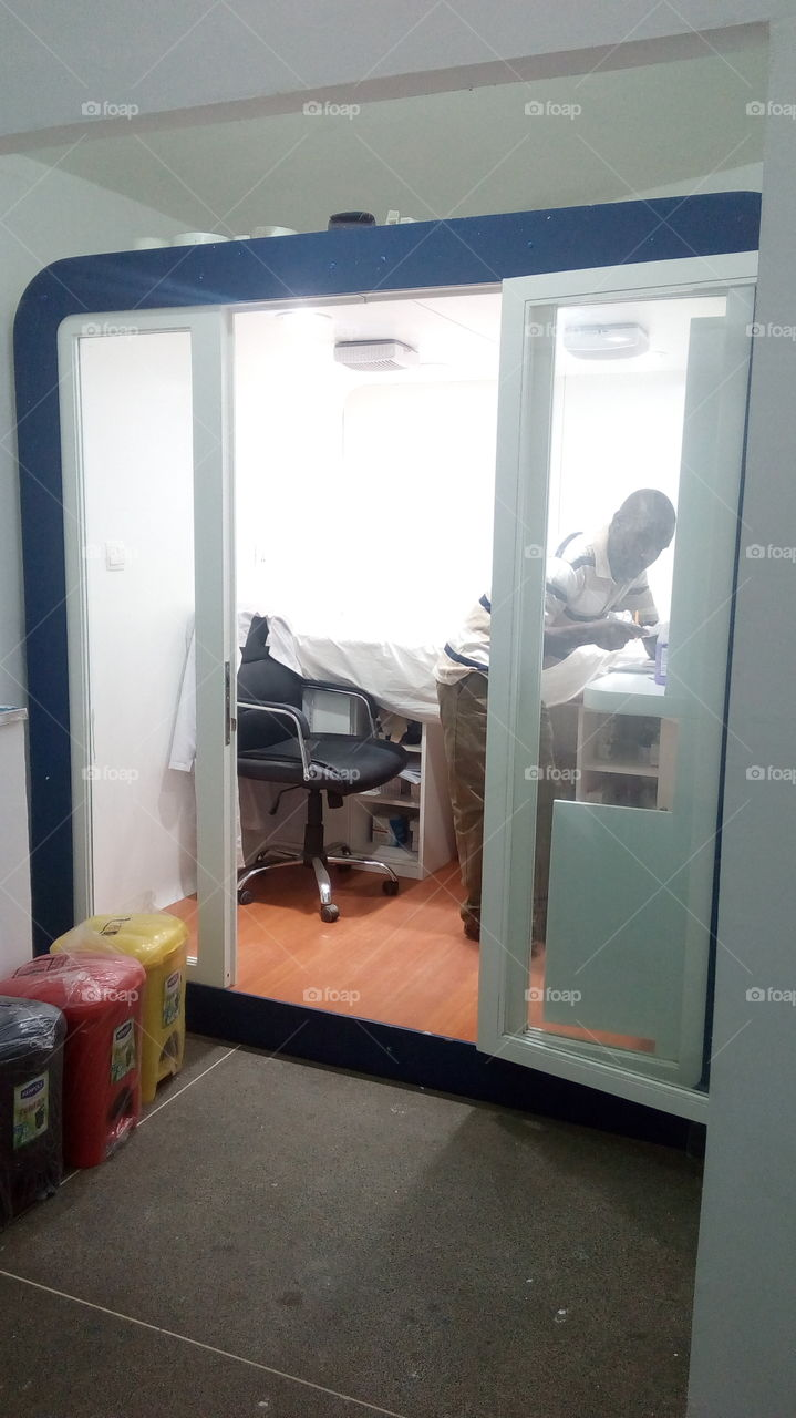 medical room for public schools in Kenya under universal health care provision by the GoK under NHIF. the medical services will be provided by Medicross Kenya