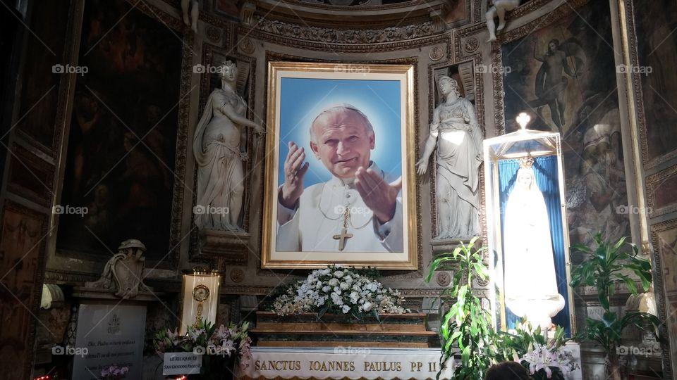 Papa. Roma San Pietro
