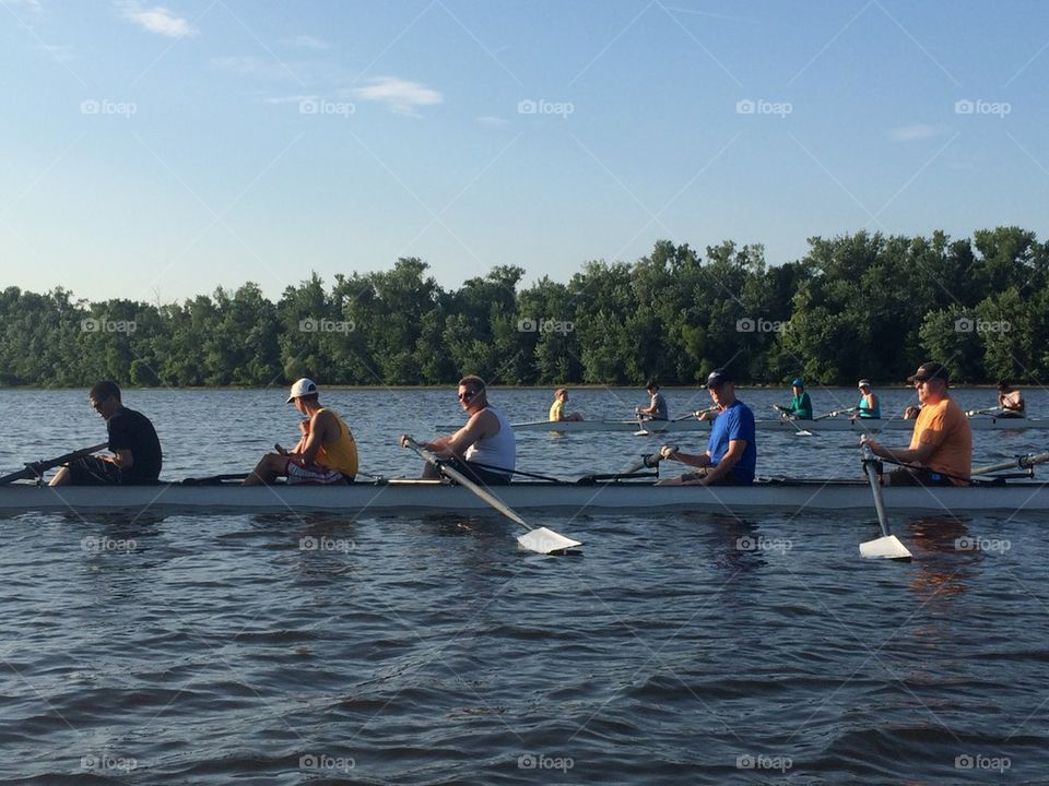 Rowers at Rest
