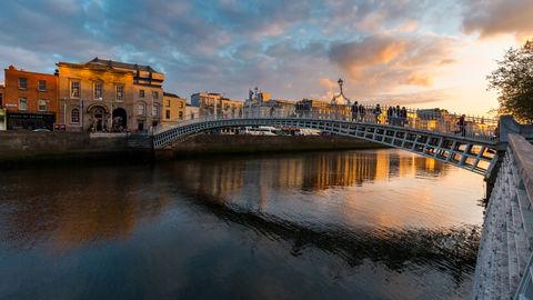 Ha' Penny Bridge, Dublin