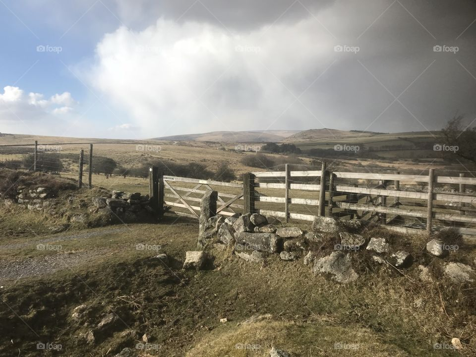 This Dartmoor Landscapes captures the now and the immediate future. That sky indicates snow is imminent.