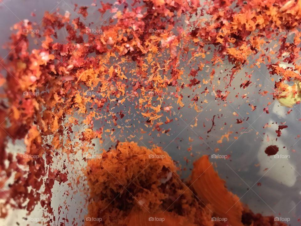 Orange color story