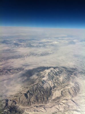 Taken above the skies somewhere over the rockies.