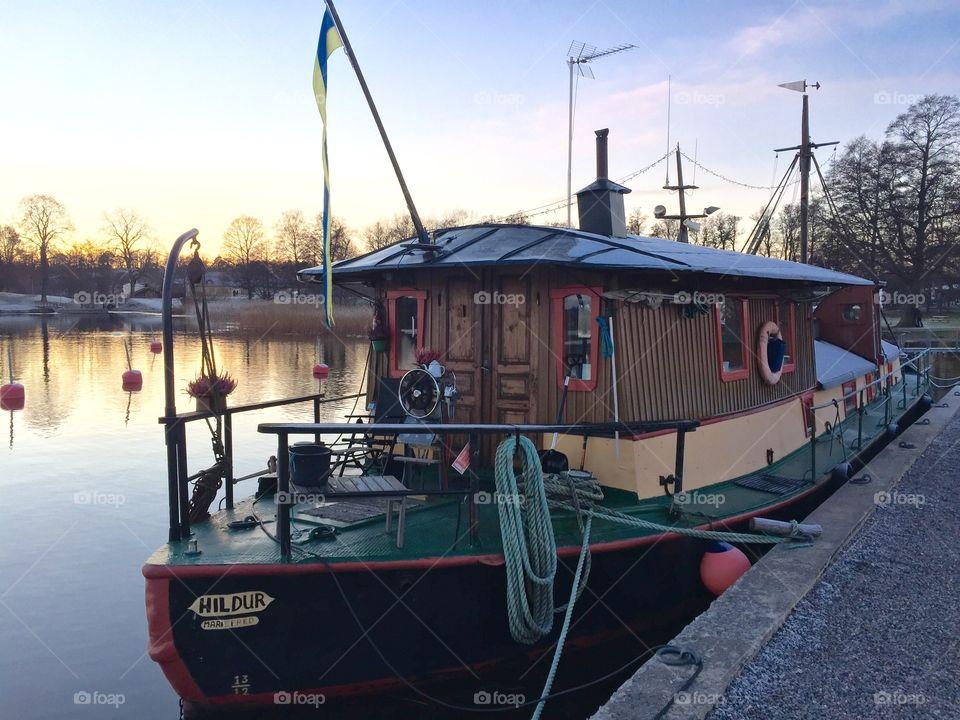 Lovely boat