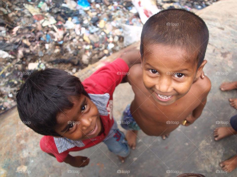 happy children smile child by noknee
