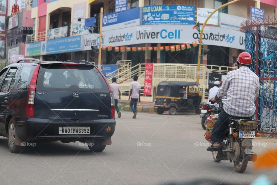 Vehicle, Road, Street, People, Transportation System